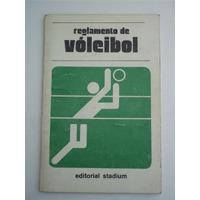 Reglamento De Voleibol Stadium Libro Voley 1998