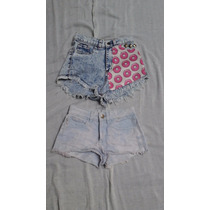 2x1 Pantalon Corto De Mujer Short Marca 47 Street T34