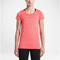 Remera Nike Dri-fit Knit Running Mujer - Original Usa