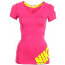 Remera Nike Pro Dri Fit Lycra Mujer - Running - Original Usa