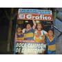 Revista El Grafico Nro 3676 Boca Campeon De La Recopa