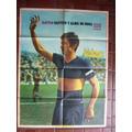 Boca Rattin Poster De El Grafico Año 1968