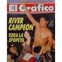 El Grafico 3684 River Campeon 15-5-1990