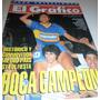 El Gráfico 3820 - Boca Campeón 1992 - Márcico