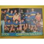 Poster Original Boca Campeon Nacional, Rojitas, Melendez