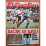 El Grafico 2847 30/4/1974 Racing - Rosario Una Maquina