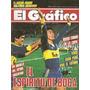 Revista Grafico 3485 River Racing Boca Wanderers Peñarol Box