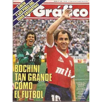 Revista Grafico 3502 Bochini Independiente 500 Partidos Socc