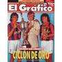 El Grafico Nº3881 22/2/94 - San Lorenzo, Ciclon De Oro