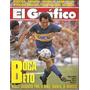 Revista Grafico 3782 Newells Boca Platense Peñarol Velez Riv