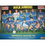 Boca Campeon C/ Poster Temperley Asciende El Grafico Nº 3851