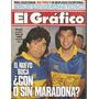 El Gráfico 3796 F-newell´s Campeon/maradona-alegre-ferlaino