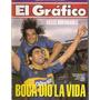 El Gráfico 3836 E-marcico-navarro Montoya-boca/racing 90 Año