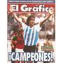 El Gráfico 3848 F- Argentina Campeon America/ Gimnasia Jujuy