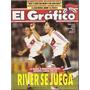El Gráfico 3877 B- Rojas- River/ Boca Racing-torneo Mendoza