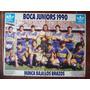 Boca 1990 / Poster De El Grafico