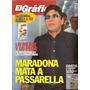 Revista El Grafico 4076 Maradona Chile Clasifica Mundial