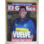 Maradona Vuelve A Boca El Grafico 3949 1995 Peñarol Campeon