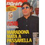 Revista Grafico 4076 Maradona Peñarol Campeon Talleres Cdba