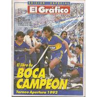 El Gráfico Especial 70 B- Boca Campeón Apertura 1992