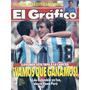 El Grafico 3854 Colombia 2 Argentina 1 Coggi Da Silva A Boca