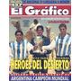 Grafico 3943 Argentina Campeon Turco Garcia