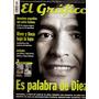El Gráfico 4225 B- Diego Maradona/gottardi- Racing Gol Gatti