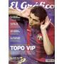 Revista Grafico 4309 30 Años San Lorenzo Bi Campeon Riquelme