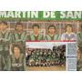 Lote 2 Posters -san Martin San Juan- Solo Futbol + Foto