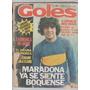 Revista Goles 78-1550- Maradona - Excursionistas - Brown