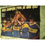 Lamina Boca Juniors Campeon Copa De Oro 1987