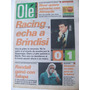 Diario Ole 29/8/1996 Brindisi- Racing/ Cholo Simeone/fontana