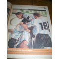 Diario Ole 17/11/1997- Argentina 1 Colombia 1 / Banfield
