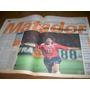 Diario Ole 12/2/1998 - Inglaterra 0 Chile 2 - Marcelo Salas