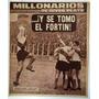Revista Millonarios De River Plate 49 River Velez 1965