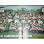 Lamina Rugby Casi Campeon 1982 Publicidad Marlboro