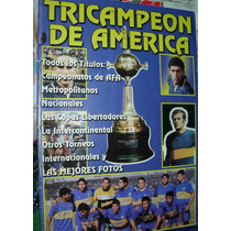 Revista Boca Juniors Tricampeon De America 8/00 Fotos Histor