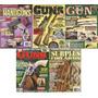 Armas, Lote De 5 Albumes En Ingles, De Coleccion, U.s.a.