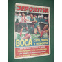 Revista La Deportiva 10 Boca Instituto Islas Pumpido Racing