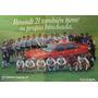 Poster Automoviles Renault 21 Futbol Seleccion Argentina