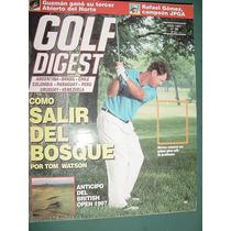 Revista Golf Digest 56 Bosque Tom Watson British Open Gomez