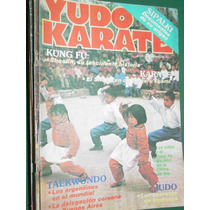 Revista Yudo Karate Artes Marciales Tecnicas Nro. 154