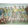 Poster Antiguo Futbol Rosario Central Equipo Campeonato 1957