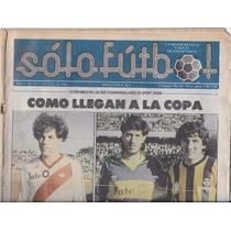 Revista Solo Futbol 7 De Julio De 1986 Patricio Hernandez