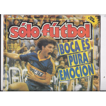 Revista Solo Futbol 15 De Abril De 1991 Boca Juniors