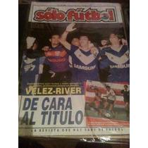 Revista Solo Futbol 19 De Abril De 1993 Chilavert Almandoz