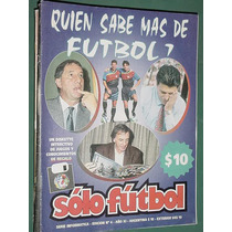 Revista Solo Futbol 4 Serie Informatica Boca River Seleccion