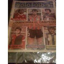 Revista Solo Futbol 23 De Marzo De 1987 Ricardo Bochini