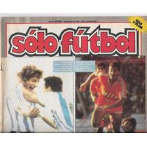 Revista Solo Futbol 22 De Abril De 1991 Claudio Garcia Racin