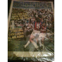 Revista Solo Futbol 10 De Noviembre De 1986 Giunta